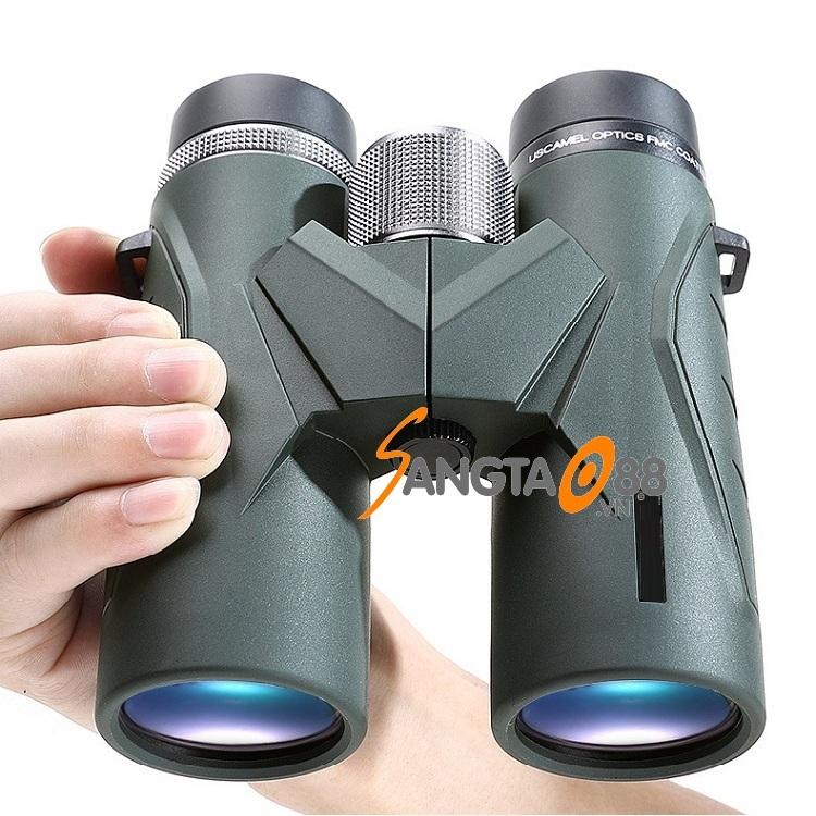 Ống nhòm phóng đại 10 lần chuyên dụng đi đêm nhìn xa siêu nét, chịu nhiệt, chống va đập tốt cao cấp UW079 (Tặng đèn pin mini bóp tay -giao màu ngẫu nhiên)