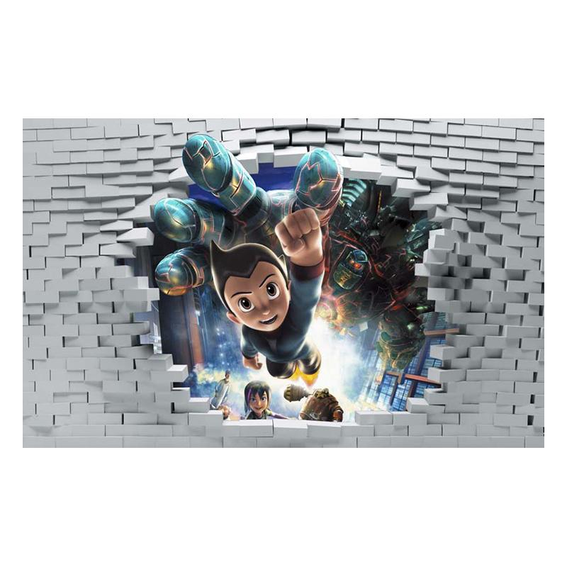 Tranh Dán Tường Hoạt Hình 3D 3DW0130