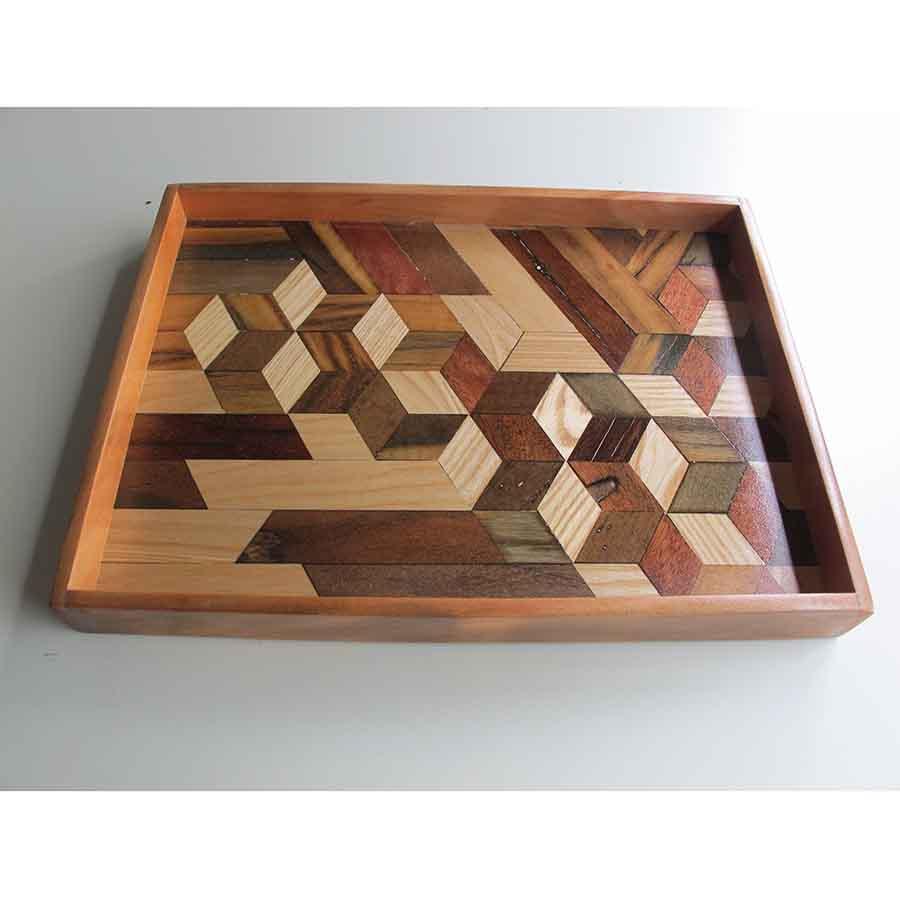Khay trà Gỗ độc đáo/ wood Tray/ handmade