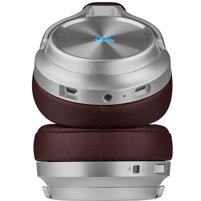 Tai Nghe Không Dây Corsair Virtuoso RGB SE Espresso - CA-9011181-AP - Hàng Chính Hãng