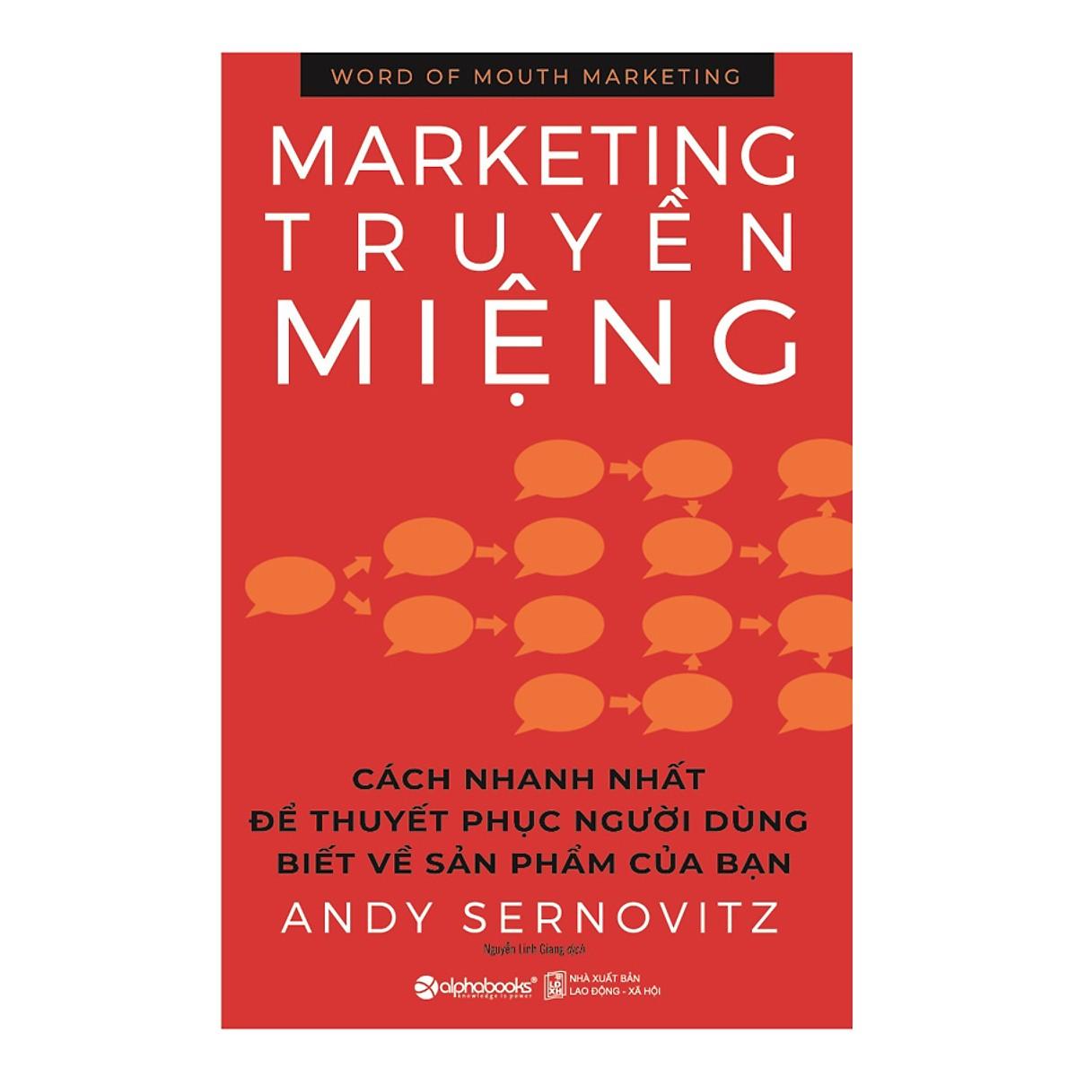 Marketing Truyền Miệng (Tái Bản) ( tặng kèm bookmark Sáng Tạo )