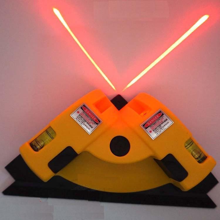 Thước Laze Hồng Ngoại 90 Độ Dụng Cụ Đo Góc Phải Bằng Laser