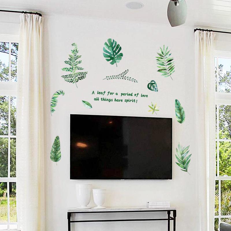 Decal Dán Tường - Green Art -SK9238