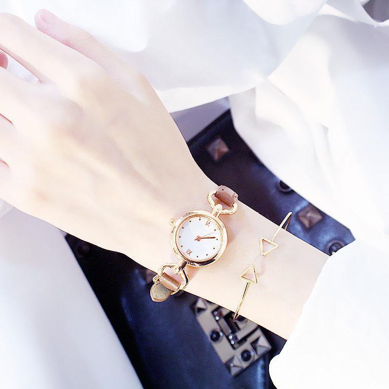 Đồng hồ đeo tay thời trang nam nữ mặt viền cách điệu tao nhã Tạo một phong cách cá tính riêng biệt độc đáo ZO36