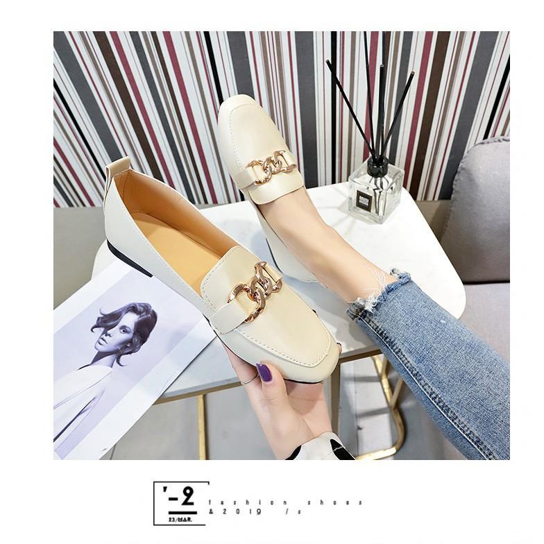 Giày Búp Bê Nữ Da Đính Khuy Hottrend 2021 MBS315 - Seun Shoes