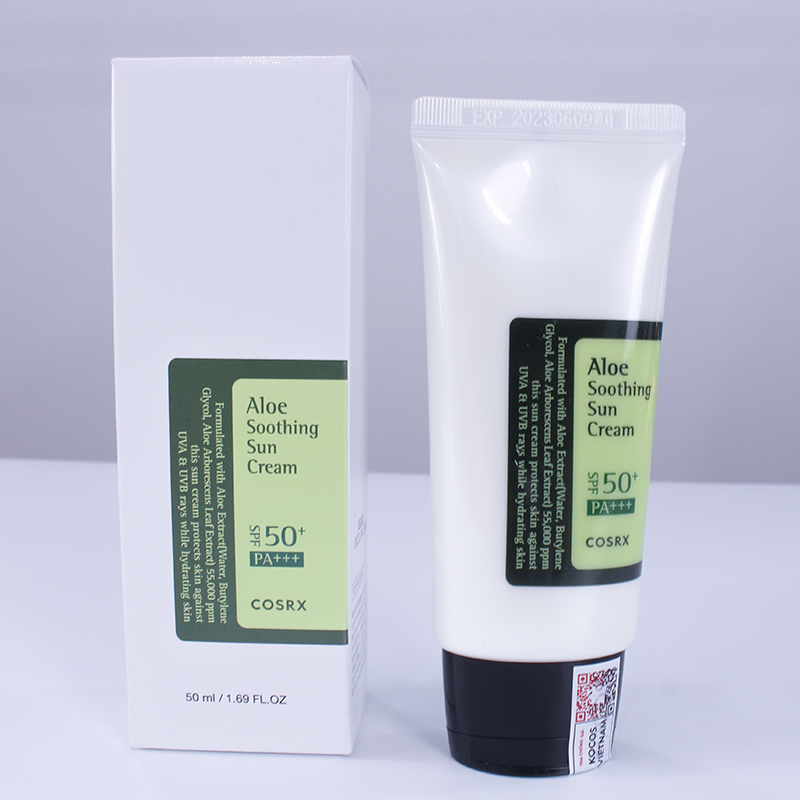 Kem chống nắng da nhạy cảm Cosrx Aloe Soothing Sun Cream SPF50+ PA+++ 50ml