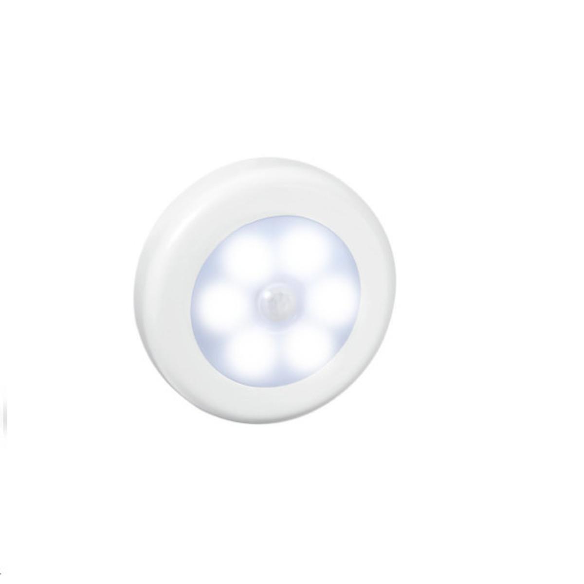 Đèn led cảm biến chuyển động hồng ngoại hình tròn - Hàng nhập khẩu
