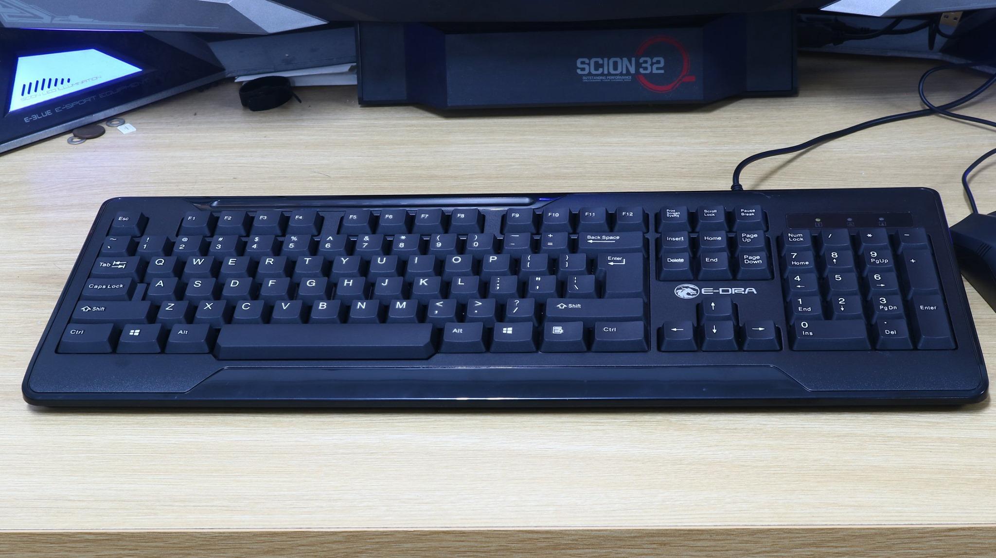 Bàn phím văn phòng E-DRA EK501 - Hàng chính hãng