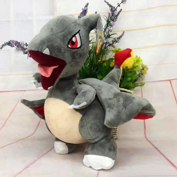Gấu Bông Pokemon – Rồng Charizard Shiny (30 Cm) Gb215 (Tặng 1 Móc Khóa Dây Da Pu Đính Đá Lấp Lánh)