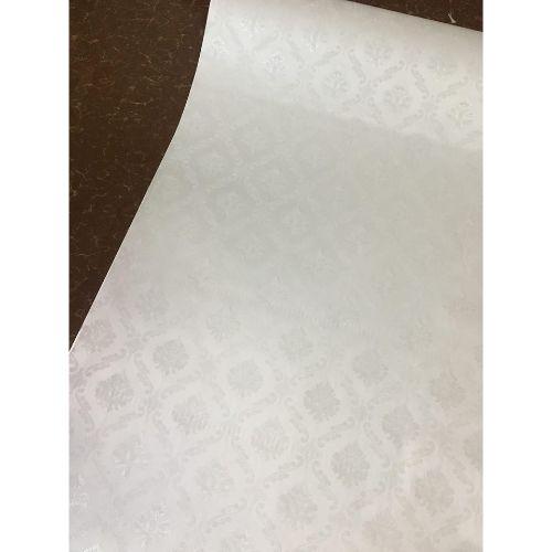 5m giấy decal cuộn cổ điển trắng DTL122(60x500cm)