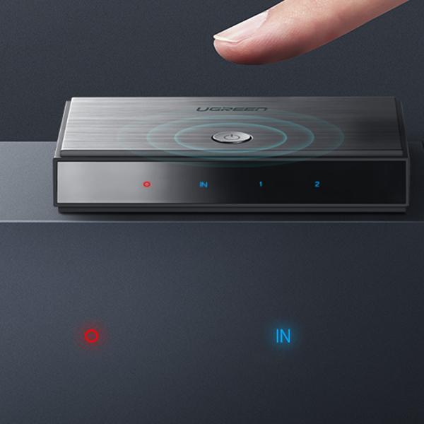Bộ chia HDMI 1 ra 2 HDMI 2.0 hỗ trợ 3D 4Kx2K@60Hz chính hãng Ugreen 50707 cao cấp