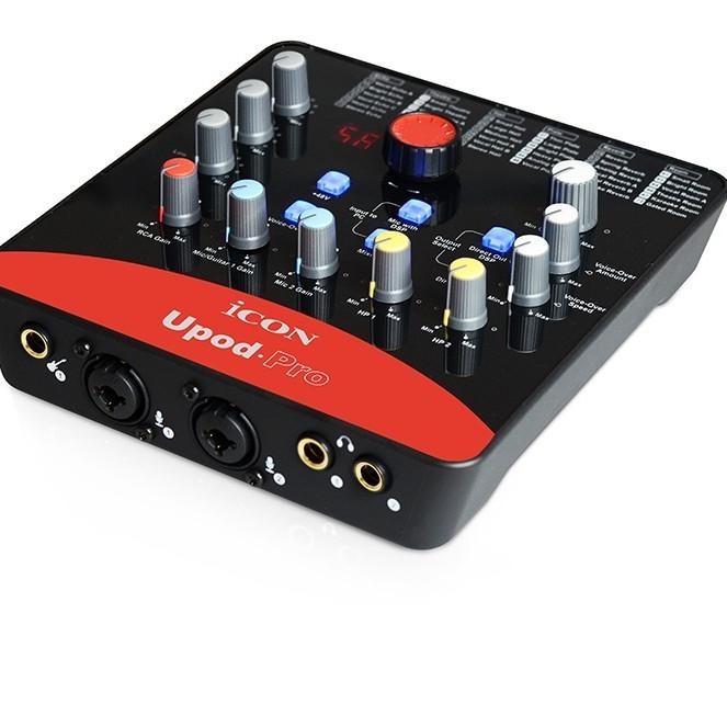 Bộ thu âm Sound Card Âm thanh Icon Upod Pro Live Stream AZONE - Hàng Nhập Khẩu