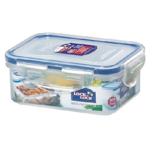 Bộ 3 hộp nhựa đựng thực phẩm Lock&Lock Classic HPL806S3 (2 hộp 350ml, 1 hộp 1 lít) - Hàng chính hãng, chất liệu nhựa PP, kín hơi, độ bền cao, dùng được trong máy rửa chén