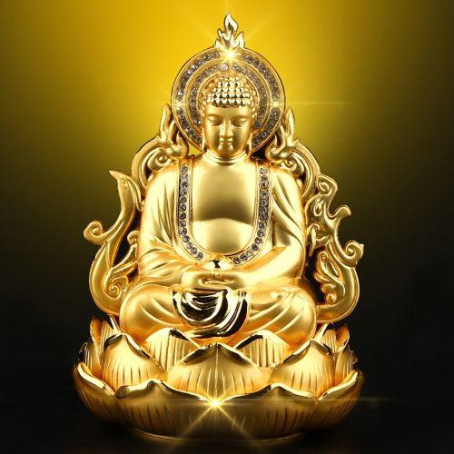 Tượng Phật để xe Ô Tô Trang trí Taplo