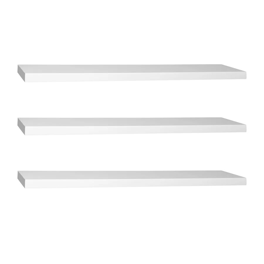 Bộ 3 Kệ gỗ treo tường SML80 - Kệ treo tường bằng gỗ trang trí tiết kiệm không gian cho Căn hộ