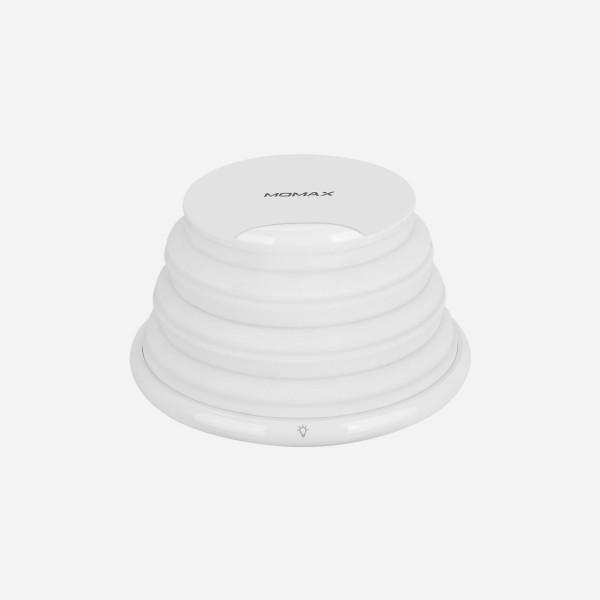 Bộ sạc không dây đèn thay đổi màu cầu vồng Q.Led - Hàng chính hãng MOMAX