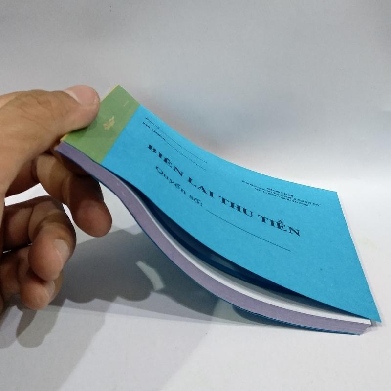Bộ 5 Biên Nhận - Biên Lai Thu Tiền 2 Liên - 10 x 15 cm