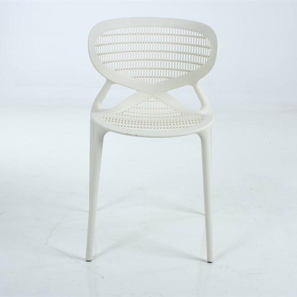 Ghế ăn nhựa PP màu trắng