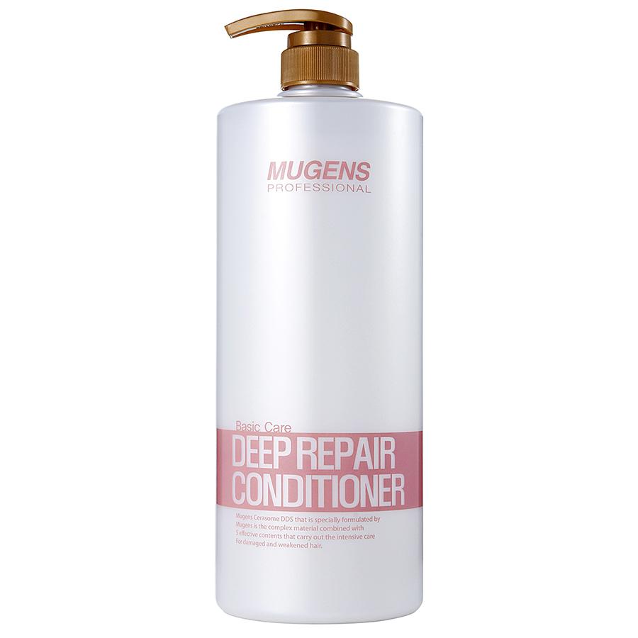 Cặp dầu gội - dầu xả phục hồi tóc Mugens Cleansing Oil Hàn Quốc 2x1500ml
