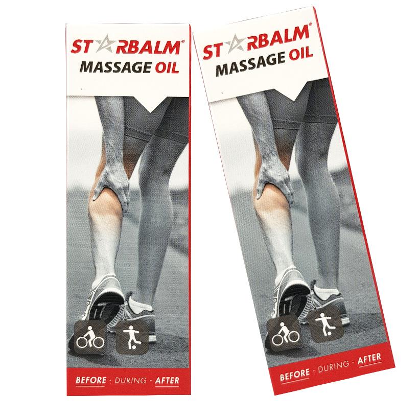 Dầu nóng xoa bóp, dầu massage STARBALM 50ml
