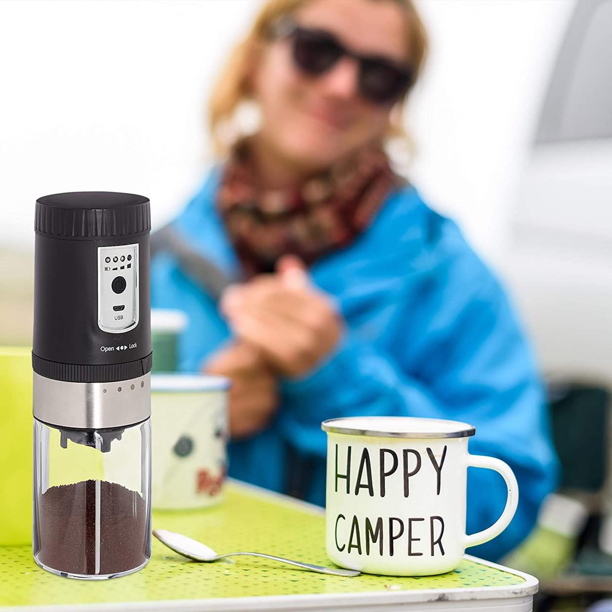Máy xay cafe mini cầm tay cao cấp đa năng( Mã YM61001)