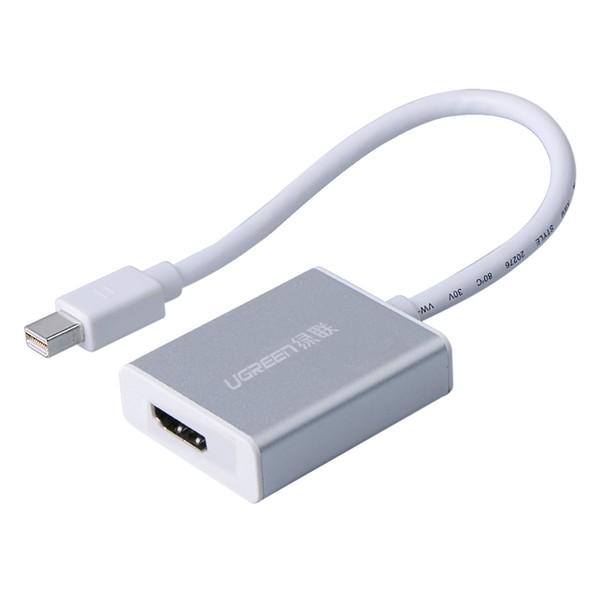 Cổng chuyển đổi  MINI DISPLAY PORT to HDMI Ugreen 10401-15CM Hàng chính hãng