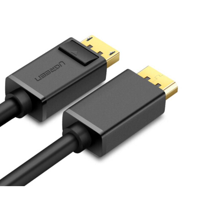 Dây cáp DisplayPort 2 đầu đực tốc độ 21.6Gbps dài 3M UGREEN DP102 10212 - Hàng Chính Hãng