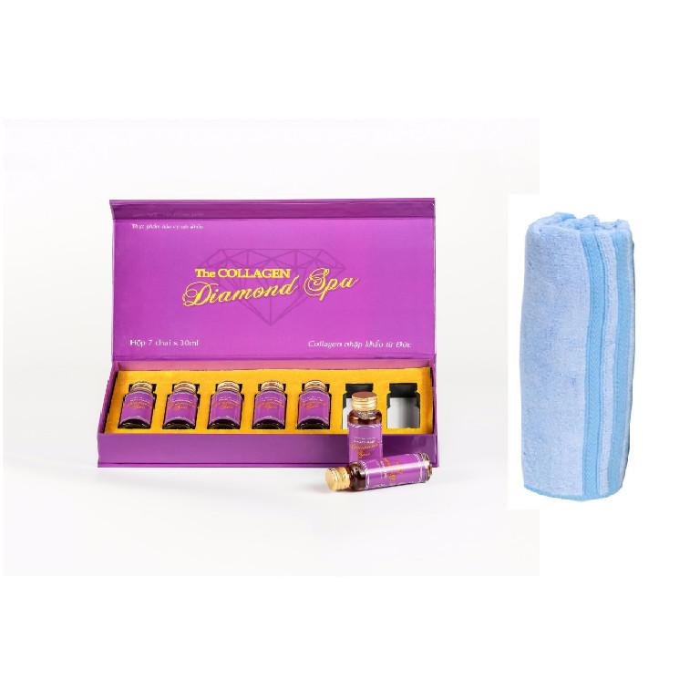 Thực phẩm bảo vệ sức khỏe Collagen diamone spa - tặng kèm khăn mặt cao cấp