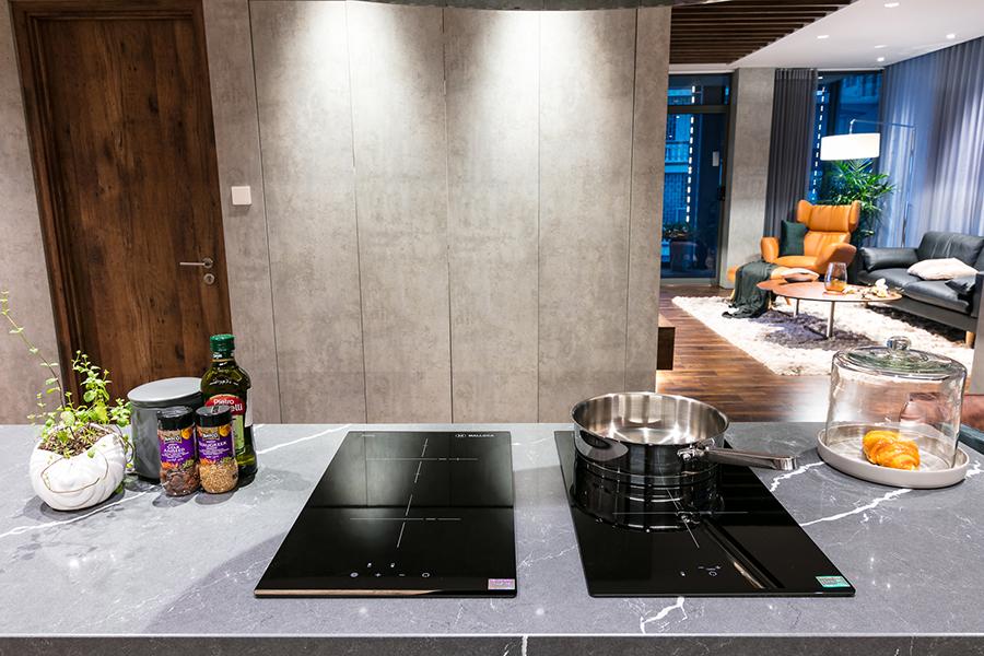 Bếp Hồng Ngoại Đôi Âm Domino Malloca MDR 302 - Hàng Chính Hãng