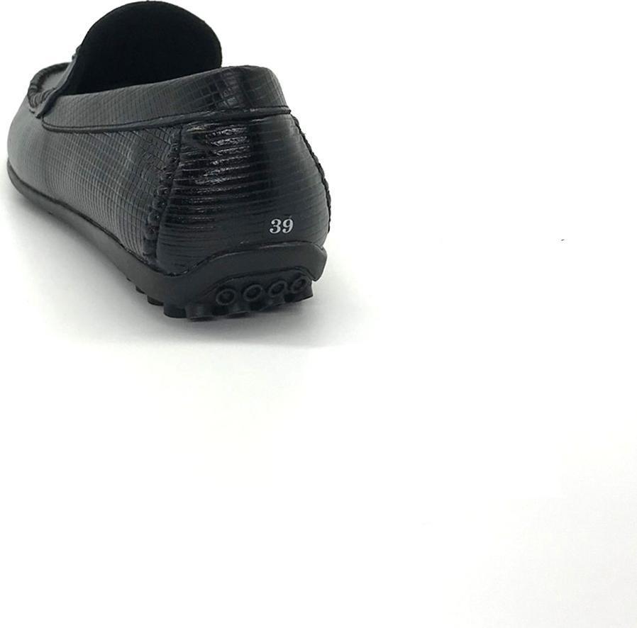 Giày lười nam da bò cao cấp Lcham08
