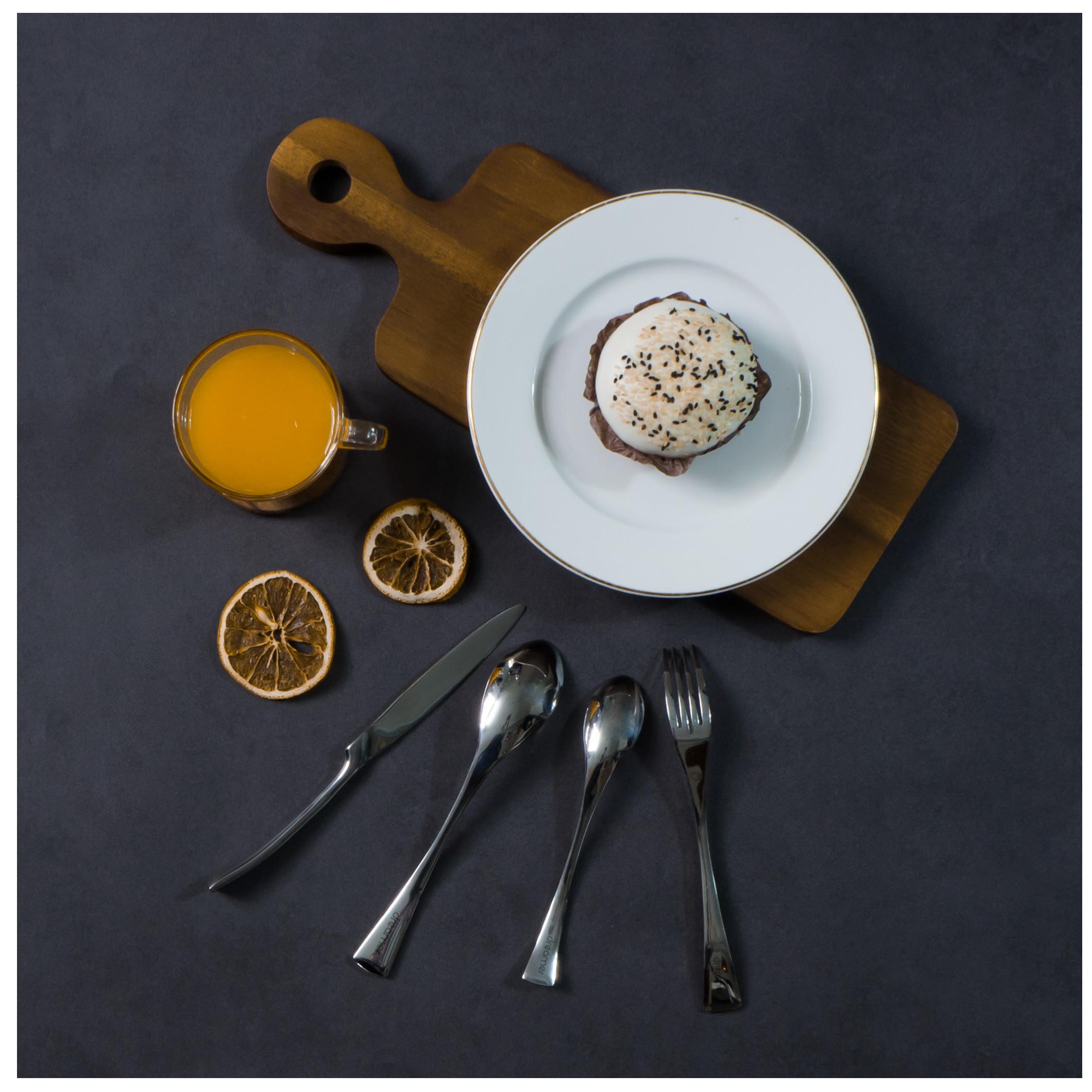 [Gift] Bộ dao muỗng nĩa INOX cao cấp 4 món DCS-02