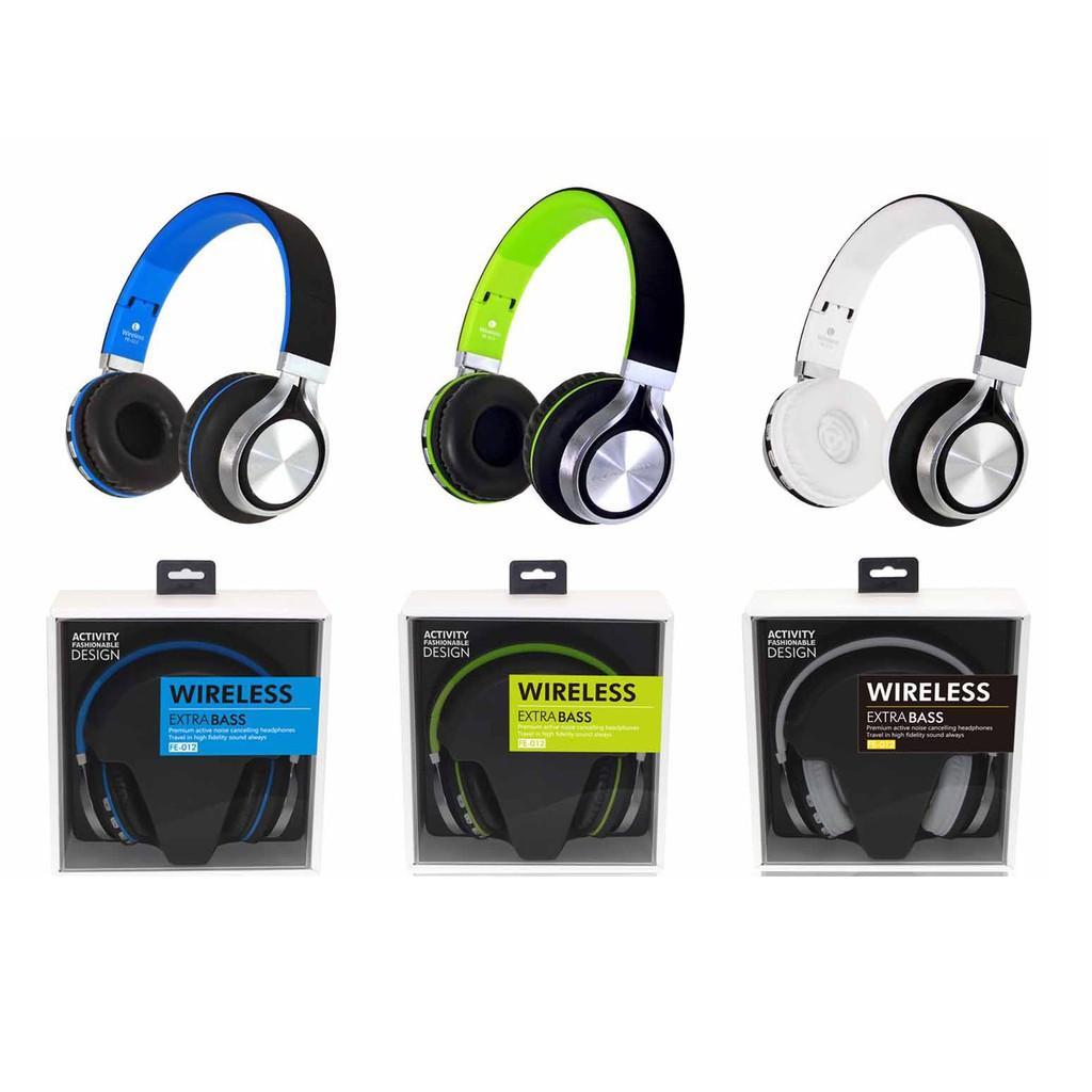 Tai nghe bluetooth chụp tai thể thao FE012( CHS01) cao cấp âm thanh tuyệt đỉnh, kiểu dáng hiện đại - hàng loại 1