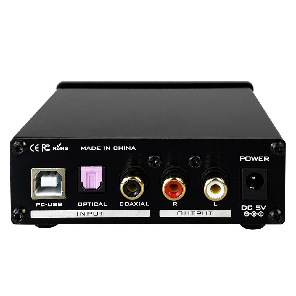 FX-Audio DAC-X3 Pro Bộ Giải Mã Khuếch Đại Âm Thanh 24BIT/192Khz Cổng Coaxial - USB PC - Optical - Kèm Nguồn - Hàng Chính Hãng