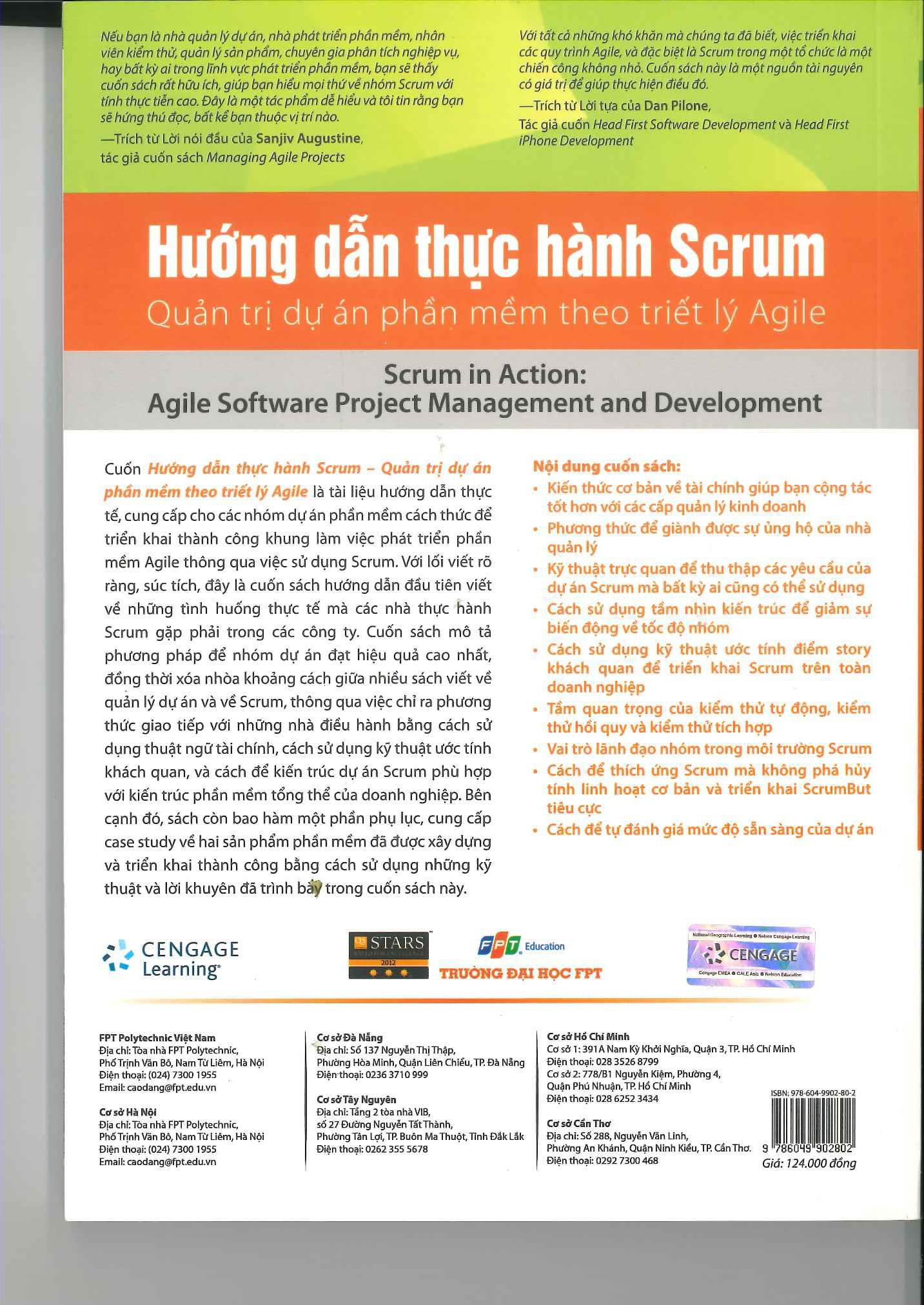 Hướng dẫn thực hành Scrum: Quản trị dự án phần mềm theo triết lý Agile