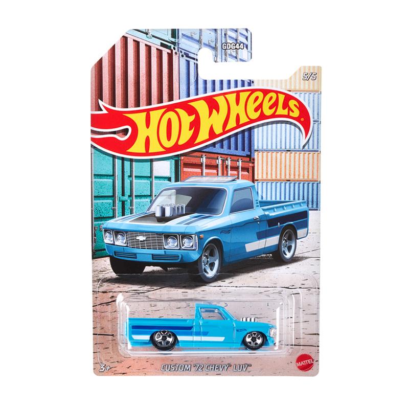 Đồ Chơi Mô Hình HOT WHEELS Siêu Xe Thể Thao Automotive '72 Chevy Luv GRP27/GDG44