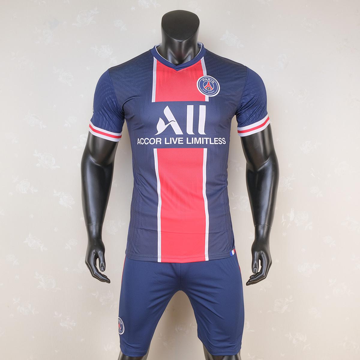 Bộ Quần Áo Bóng Đá CLB Paris Saint Germain mùa giải 2020 2021 - Quần áo đá banh nam mới nhất