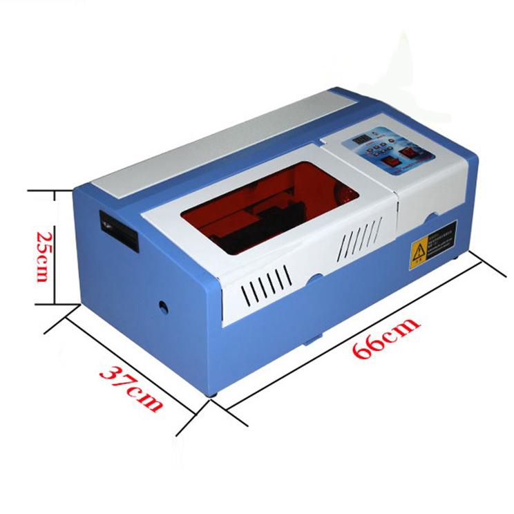 Máy cắt khắc laser vi tính co2 khổ 3020 loại 40w