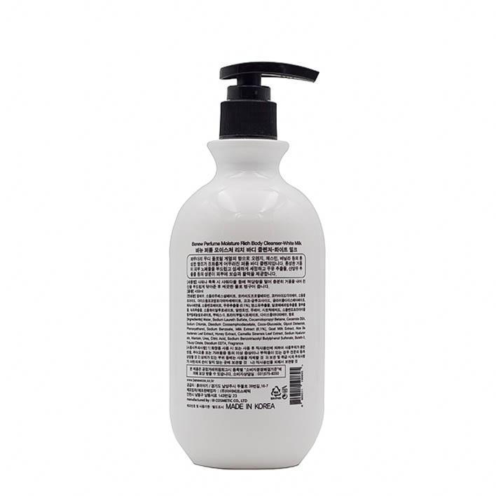 Sữa Tắm Trắng Da Diệt khuẩn Hương Nước Hoa Benew Perfume(450ml) – Hàng Chính Hãng