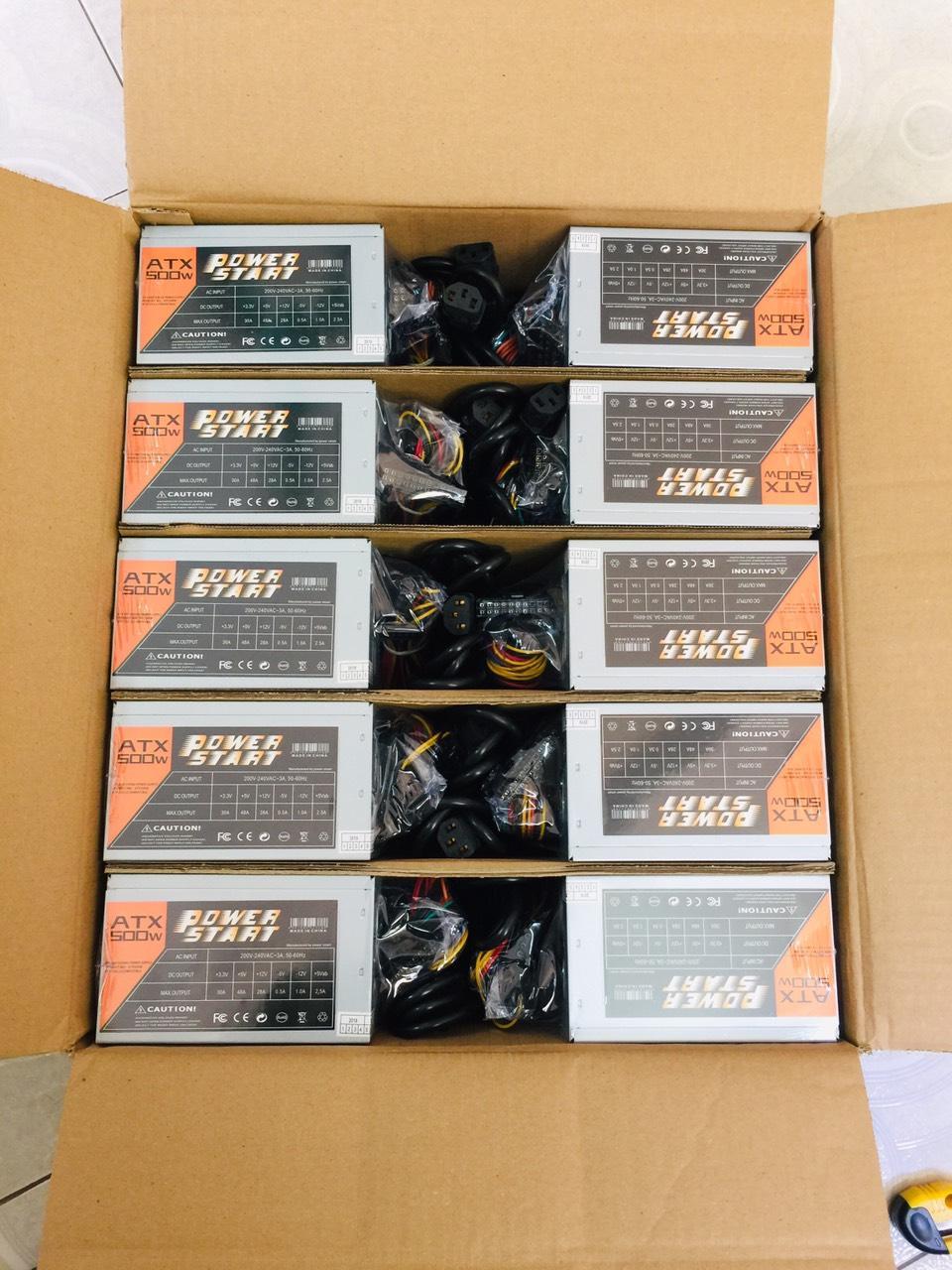 Nguồn Máy Tính Start Power 550W - Fan 120mm - Chống Ồn - 80 Plus