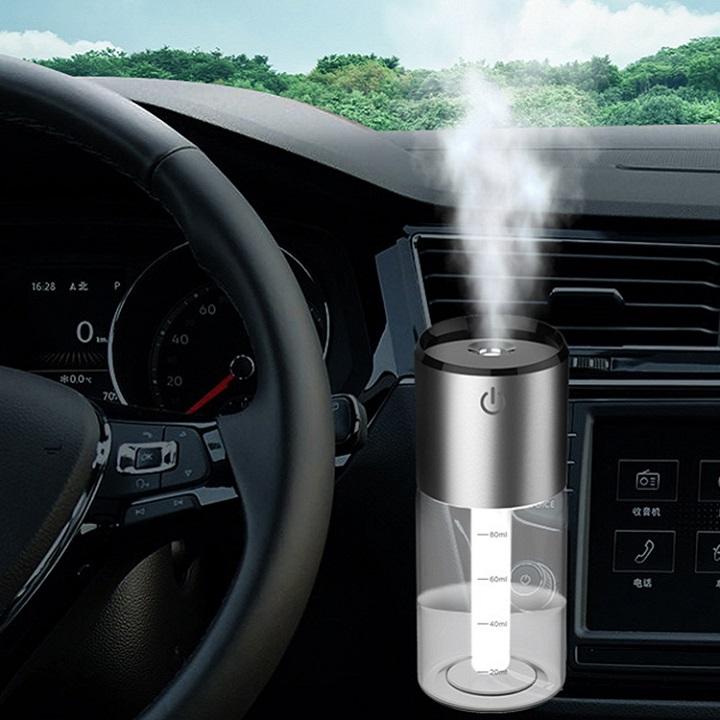 Máy tạo ẩm, khuếch tán tinh dầu trên ô tô BC35B ( Có sạc nhanh QC3.0 ) - Hàng nhập khẩu