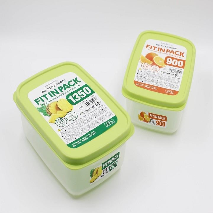 Combo 2 Gối Cao Su Non + Áo Gối (30x50cm) Chống Đau Cột Sống Cổ - Tặng hộp nhựa Fitin Pack hàng Nhật