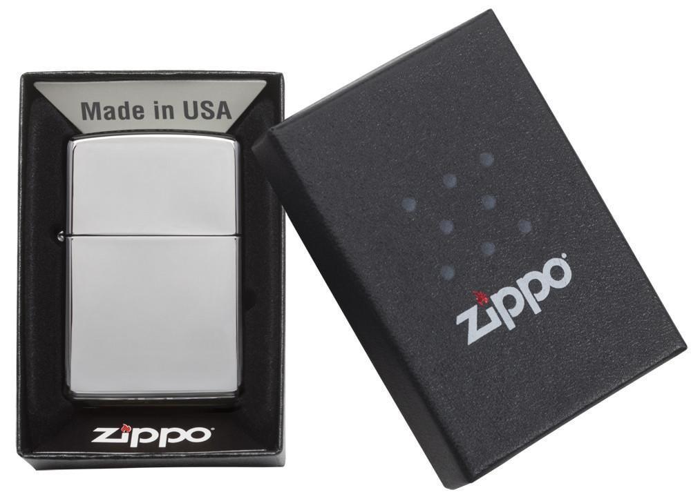 Bật lửa Zippo High Polish Chrome 250