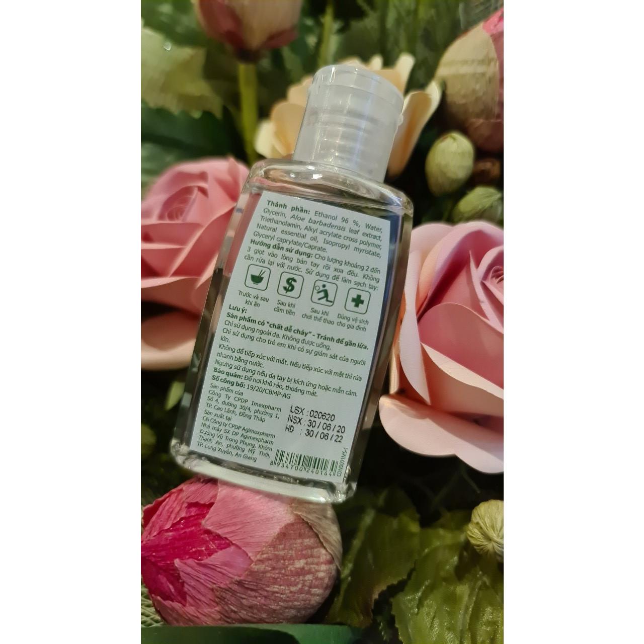 IMEXPURE 60ml - Gel rửa tay sát khuẩn hiệu quả của IMEXPHARM