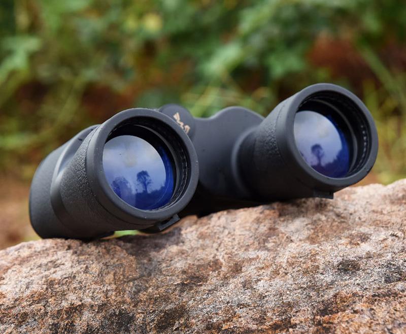 ống nhòm du lịch 2 mắt baigish 20 x 50 góc rộng có túi đựng chuyên nghiệp