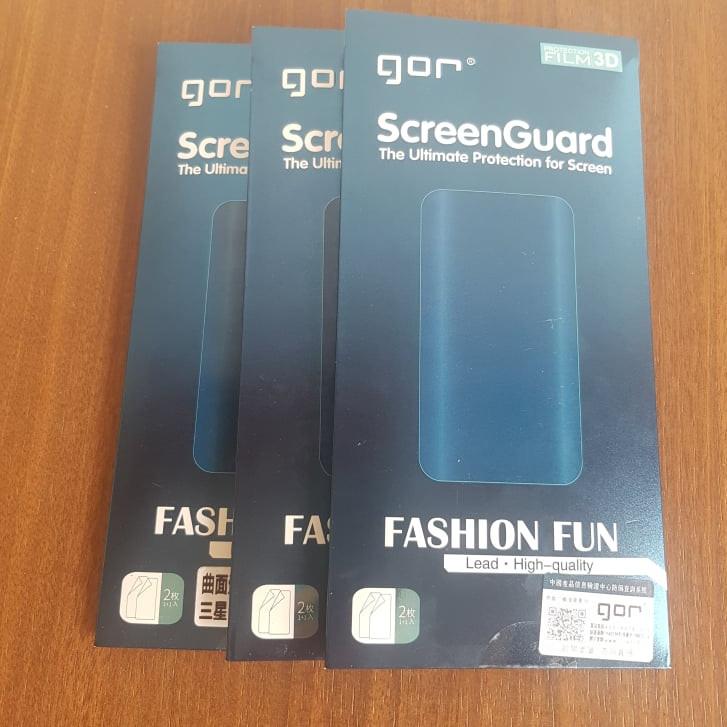 Dán dẻo Gor Samsung S7edge/S8/S9/S10/NoteFE/Note8/Note9/Note10 ( 2 Miếng Mặt Trước) Hàng nhập khẩu