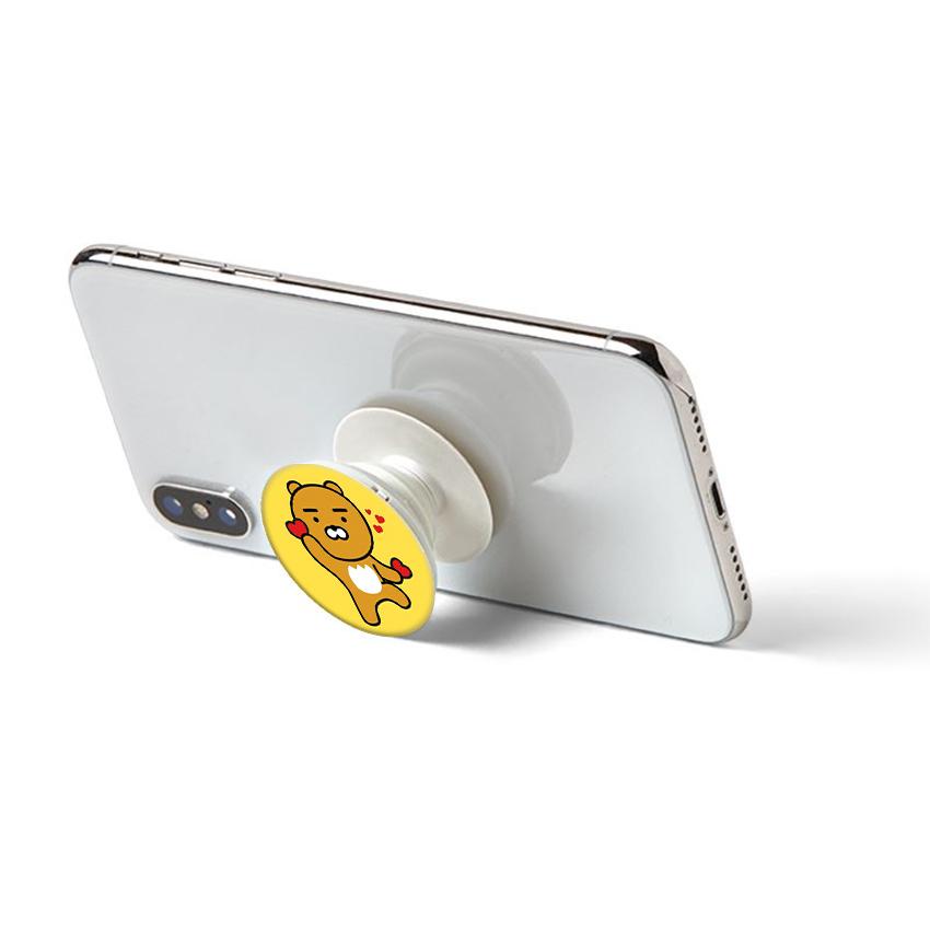 Gía đỡ điện thoại đa năng, tiện lợi - Popsockets - In hình KAKAO 01 - Hàng Chính Hãng