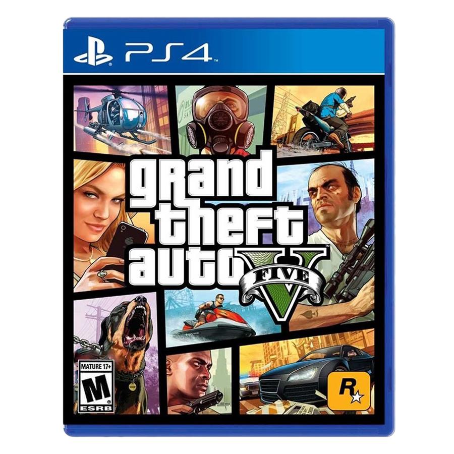 Đĩa Game PlayStation PS4 Sony GTA Grand Theft Auto V Hệ US - Hàng nhập khẩu - 23304789 , 4414186318778 , 62_12879009 , 990000 , Dia-Game-PlayStation-PS4-Sony-GTA-Grand-Theft-Auto-V-He-US-Hang-nhap-khau-62_12879009 , tiki.vn , Đĩa Game PlayStation PS4 Sony GTA Grand Theft Auto V Hệ US - Hàng nhập khẩu