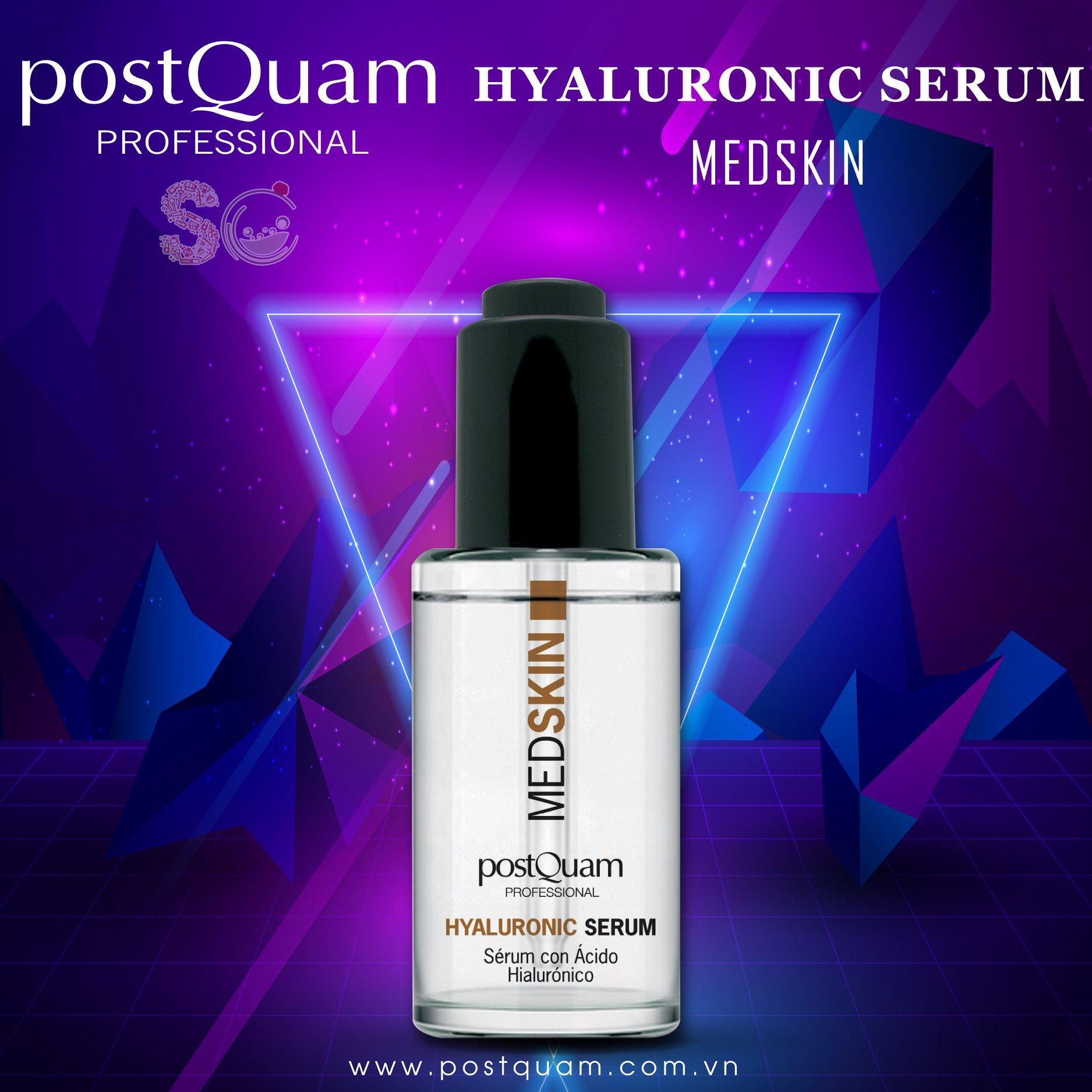 postQuam - Serum HA Sạc Nước, Căng Bóng, Trẻ Hóa Da (30ml)