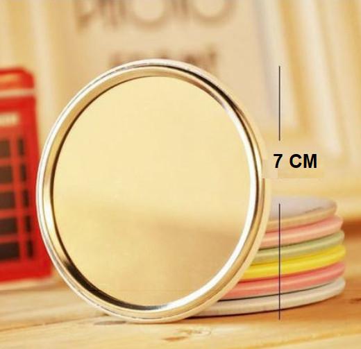 Combo 5 Gương mini bỏ túi siêu cute , nhỏ gọn xinh xắn thích hợp cho các bạn nữ có thể mang theo khắp mọi nơi GD222-GuongMN {giao ngẫu nhiên}