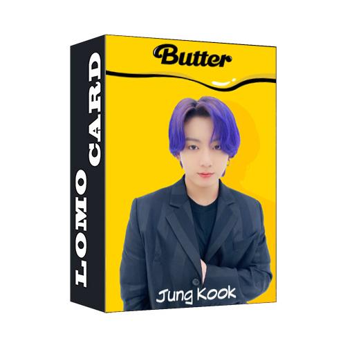 Bộ 30 thẻ ảnh lomo Jungkook BTS Butter